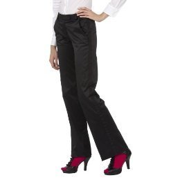 New ZAC POSEN TUXEDO PANTS Dressy Slacks SIZE 3 BLACK Fully Lined