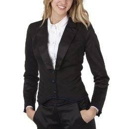 NEW ZAC POSEN Target  Collection TUXEDO BLAZER Medium BLACK Lined Jacket