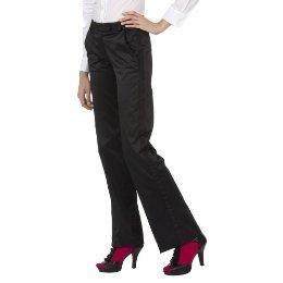 New ZAC POSEN TUXEDO PANTS Lined Dress Slacks SIZE 7 BLACK