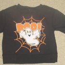 NEW Infant HALLOWEEN SWEATSHIRT Graphic Top 12 Months BLACK