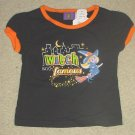 "NEW Infant HALLOWEEN TOP ""Witch and Famous"" Graphic T-Shirt 18 Months BLACK"