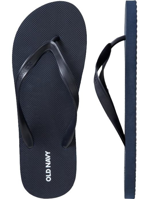 NEW MENS Old Navy FLIP FLOPS Sandals SIZE 12-13 NAVY BLUE Shoes