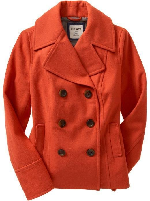 Nwt Womens Old Navy Pea Coat Size Xxl 20 Wool Blend
