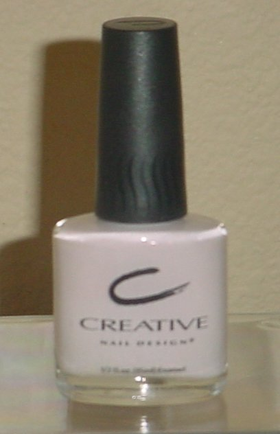CREATIVE NAIL DESIGN POLISH Blueberries & Creme Color # 282 1/2 oz CREME NAIL LACQUER