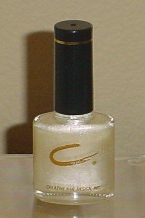 CREATIVE NAIL DESIGN POLISH Cold Shoulder #194 Shimmer Nail Color 1/2 oz