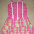 Girls SKIRT SET 2 PIECE Girl Connection Skort and Top SIZE 6 PINK Cotton