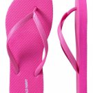 NEW Old Navy FLIP FLOPS Ladies Thong Sandals SIZE 11 NEON PINK Shoes