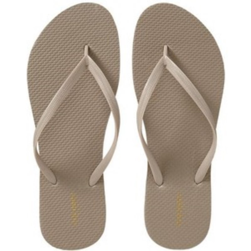 NEW Ladies FLIP FLOPS Old Navy Thong Sandals SIZE 8M (38) TAN Shoes