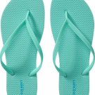 NEW Ladies FLIP FLOPS Old NavyThong Sandals SIZE 7M SEAFOAM GREEN Shoes