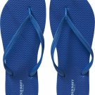 New LADIES Old Navy FLIP FLOPS Thong Sandals SIZE 11M ROYAL BLUE Shoes