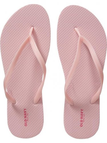 NEW LADIES Old Navy FLIP FLOPS Thong Sandals SIZE 11M PALE PINK Shoes