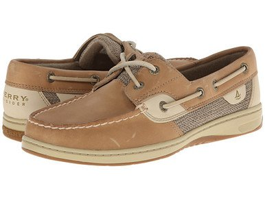 NEW Ladies SPERRY SHOES Bluefish Casual Boat SIZE 11M LEATHER TAN