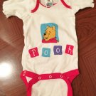 NEW Baby WINNIE the POOH One Piece Infant Bodysuit NEWBORN 100% Cotton