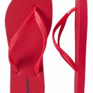 NEW Old Navy FLIP FLOPS Ladies Thong Sandals SIZE 9M RED Shoes