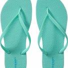 NEW Ladies FLIP FLOPS Old NavyThong Sandals SIZE 10 SEAFOAM GREEN Shoes