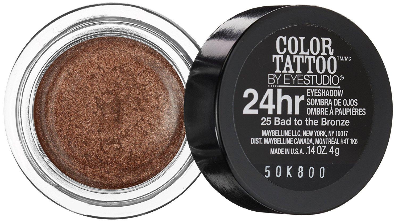 Maybelline color tattoo eyeshadow 24 hr creme gel bad to for Maybelline color tattoo gel eyeshadow