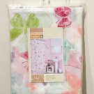 New SHOWER CURTAIN Home BUTTERFLY PRINT Vinyl Bath Shower Multicolor