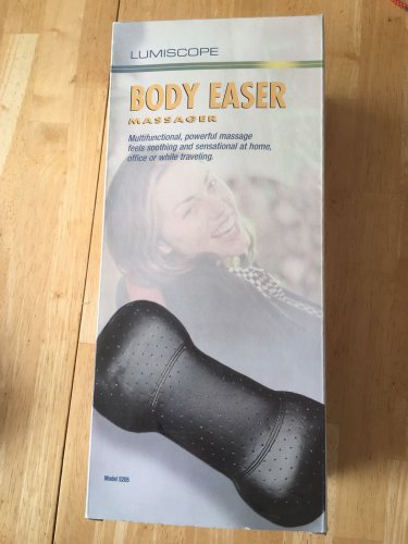 NEW Lumiscope BODY EASER MASSAGER  for Home,Travel or Office Battery Operated