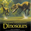 New NATIONAL GEOGRAPHIC DINOSAURS Hard Cover Coffee Table Book Illustrated GIFT