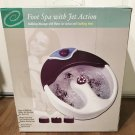 FOOT SPA with JET ACTION Bubbling Massage and Soothing Heat Ultimate Foot Care GIFT