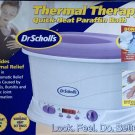 NEW Dr Scholls Luxury Thermal Therapy Paraffin Spa Bath Complete System GIFT