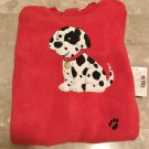 NEW Baby FLEECE SLEEPER Okie Dokie One Piece Infant Pajamas 24 Months RED