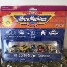 NIB MICRO MACHINES Off Road Collection #8 Galoob Scale Miniature Vehicles 1985