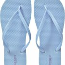 New LADIES Old Navy FLIP FLOPS Thong Sandals SIZE 6M LIGHT BLUE Shoes