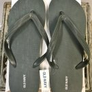 NEW Mens FLIP FLOPS Old Navy Sandals SIZE 12-13 HEATHERED GREEN Shoes pool beach