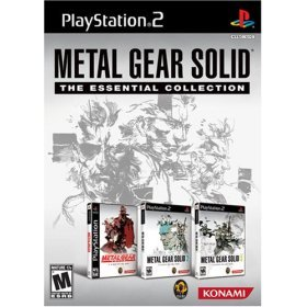 PS2 Metal Gear Solid- The Essential Collection
