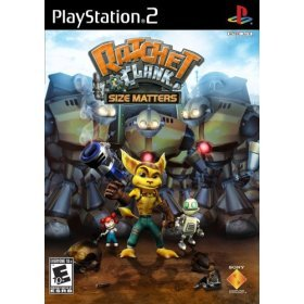 PS2 Ratchet &Clank- Size Matters
