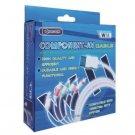 Nintendo Wii HD Hi-Def tv Pro Component Cable