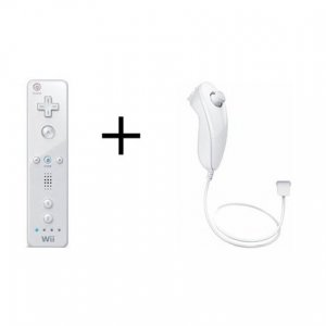 Wii Remote and Wii Nunchuk Combo Set
