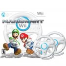 Mario Kart Wii With 2 Wii Wheel