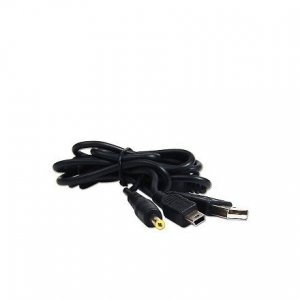 2-in-1 USB Power Cable & Data Cable for PSP