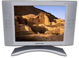 Sceptre 20sv-gecko  20-inch 800 X 600 Silver Lcd Tv With Speakers
