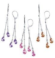 Avon Best Wishes Teardrop Earrings ~ Pink (Love) ~ Pierced Costume Jewelry Christmas