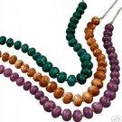 Avon Chunky Beaded Necklace ~ Teal ~ NIB Last One