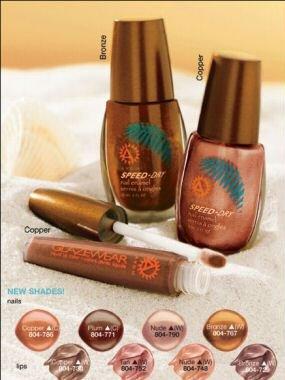 Avon GLAZEWEAR Liquid Lip Color Lip Gloss Lipgloss ~ Copper ~ Bronzer Collection ~ Discontinued HTF