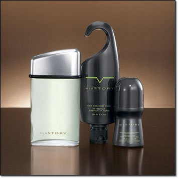 Avon HisSTORY Father's Day Gift Set ~ Eau de Toilette Spray ~ Body Wash ~ Deodorant