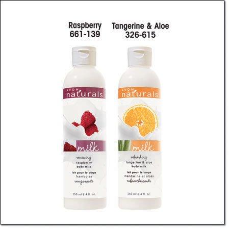 Avon Naturals Body Milk Lotion ~ Refreshing Tangerine & Aloe ~ Discontinued