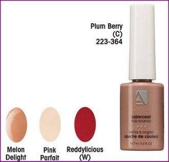 Avon Colorcoat Nail Enamel Polish ~ Pink Parfait ~ Discontinued Shade location2