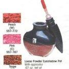 Avon Loose Powder Eyeshadow Pot ~ Peach ~ Discontinued Eye Shadow