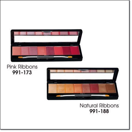 Avon 8 in 1 Lip Palette ~ Pink Ribbons ~ Lipgloss Gloss Lip Color
