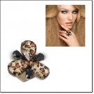 mark. Into The Wild Ring Adjustable Band Leopard Print
