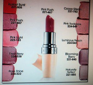 Avon Healthy Makeup Lipstick Blooming Berry