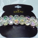 Karina Brand~ Aurora Borealis Beaded Hair Barrette~Hair Jewelry~New