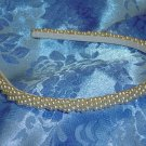 Luxe Simulated Pearls Hiar band headband tiara wedding $48 value