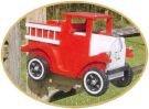 LITTLE RED FIRETRUCK MAILBOX