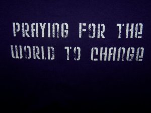 pray4change shirt